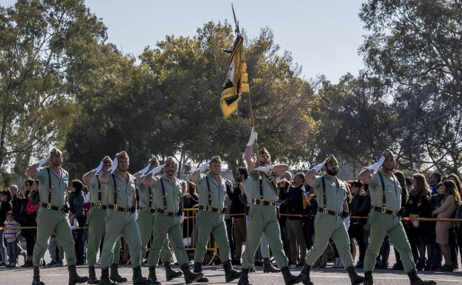 Festividad de la Inmaculada en La Legión