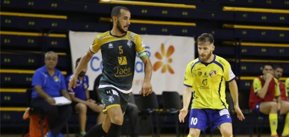 Amplia victoria del Jaén FS en Gran Canaria