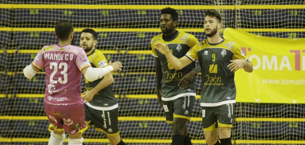 El Jaén FS no falla y golea ante el Gran Canaria FS