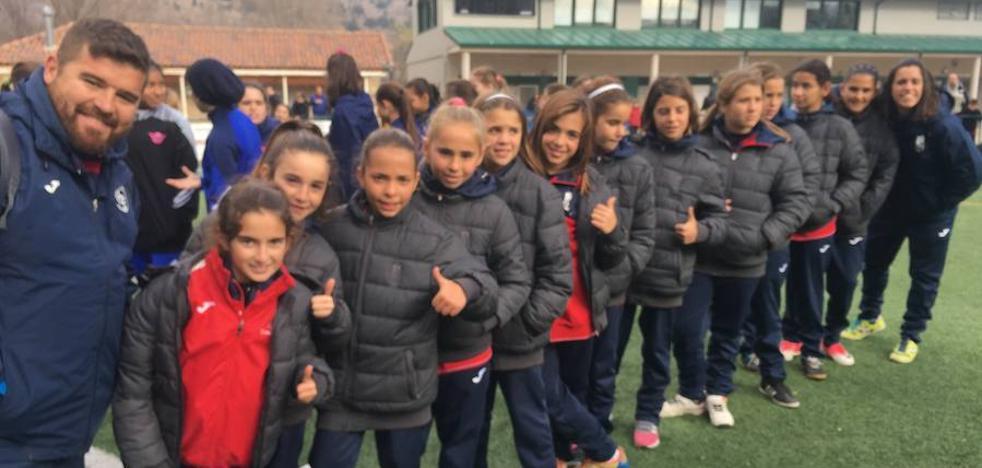 Dos rojiblancas en el equipo ideal de la Espinar Women Cup