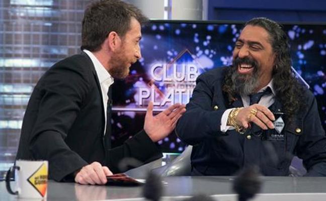 Diego 'El Cigala' la vuelve a liar en 'El Hormiguero': así acudió al programa