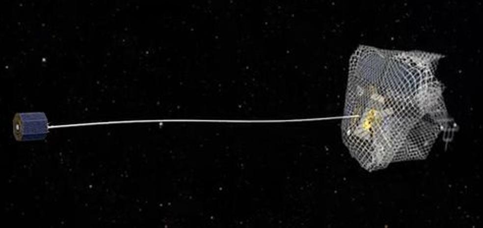 El artefacto que pesca en el espacio y juega un importante papel en nuestro futuro