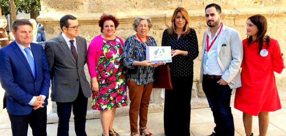 Susana Díaz se suma al Comité de Honor del Congreso Internacional del 450 aniversario de la Rebelión de las Alpujarras