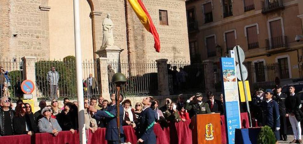 El Ejército del Aire celebra su patrona por primera vez en la plaza de España de Motril