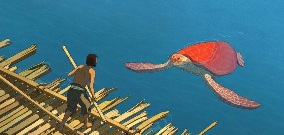 'La Tortuga Roja' llega al Cineclub Almería