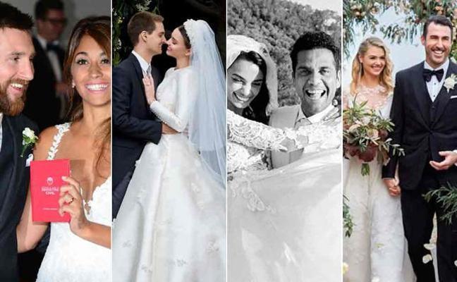 Las bodas de famosos que nos deja 2017