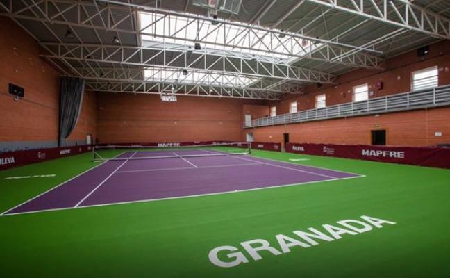 La lluvia obliga a suspender los partidos del Campeonato de España de Tenis en El Serrallo
