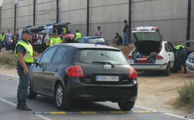 Tráfico mantiene esta semana los controles masivos de drogas en Almería