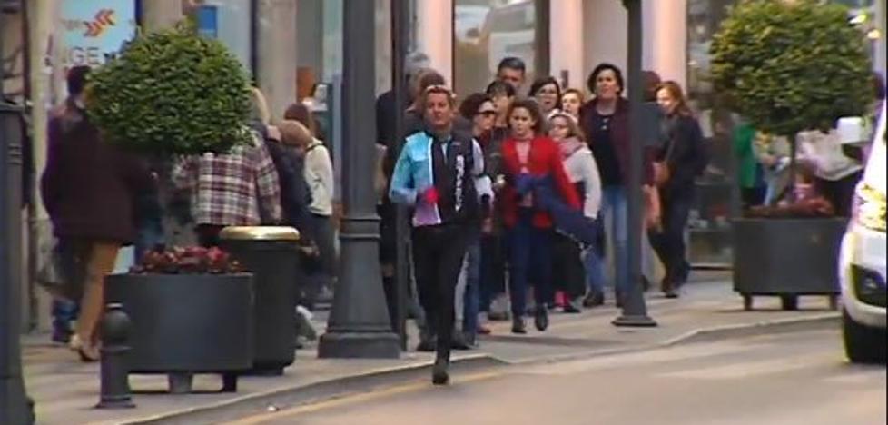 La polución anula los beneficios de caminar durante dos horas