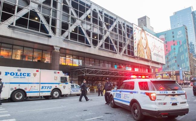 Un terrorista suicida fracasa en su intento de provocar una masacre en Nueva York