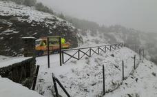 34 litros en Jaén capital y nieve en las montañas