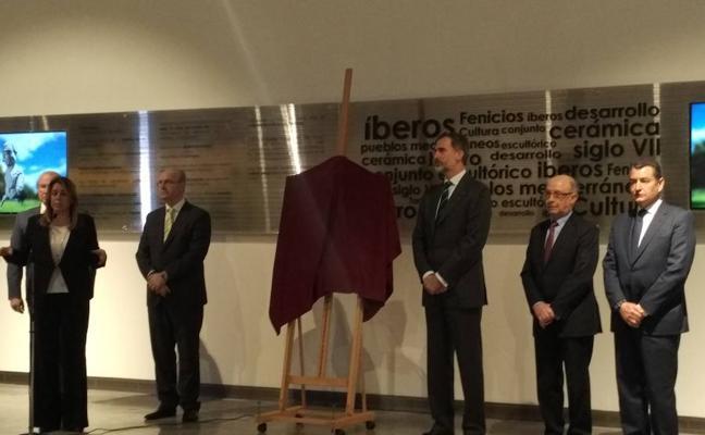 El Rey Felipe VI inaugura hoy el Museo Íbero de Jaén