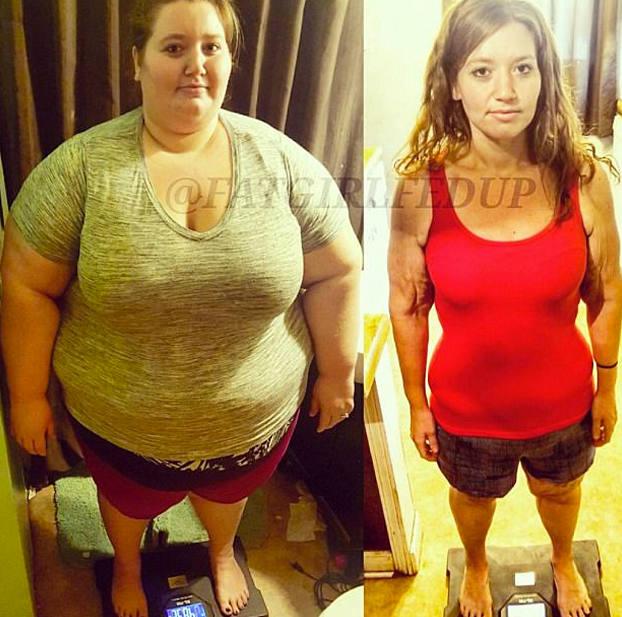 Las fotos del matrimonio que ha perdido 180 kilos entre ambos