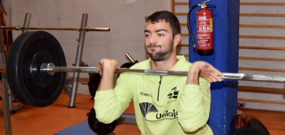 Alex Slaught disfruta de Almería y del equipo