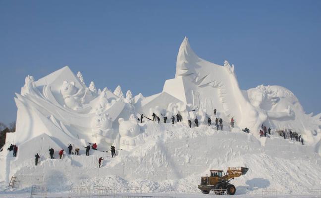 El día de Navidad abrirá el mayor parque de hielo y nieve del mundo