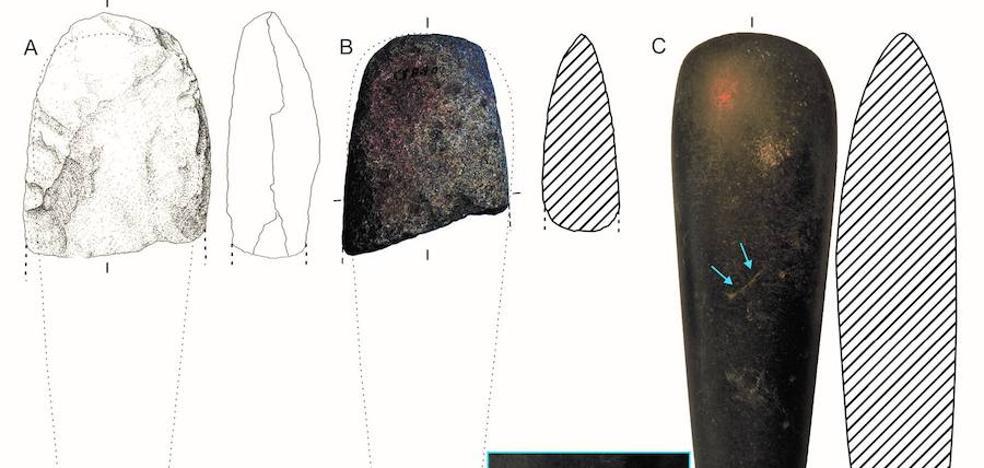 Descubren que en la Prehistoria ya se usaban redes de distribución de herramientas