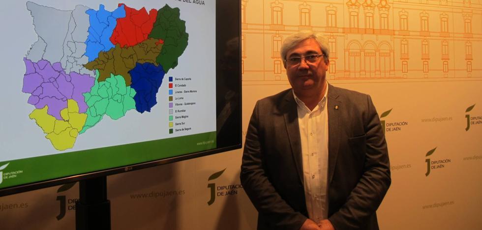 Diputación, consorcios y Somajasa invertirán en 2018 más de 4,3 millones en obras hidráulicas en Jaén