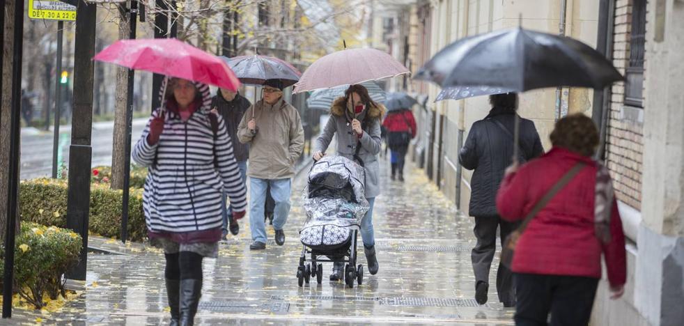 Más frío y vuelta de las lluvias en Granada