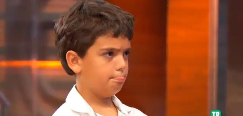 El niño de 'Masterchef Junior' que deja sin palabras a los jueces