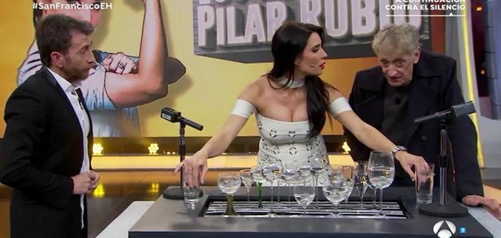 La prueba de Pilar Rubio en 'El Hormiguero' se salda con una sorpresa
