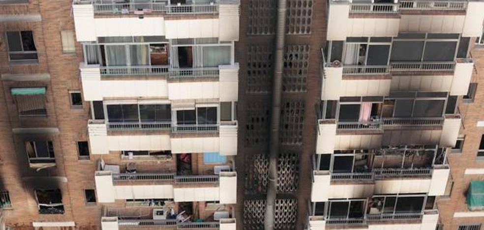 Las obras de reparación del edificio quemado en San Juan de Letrán comienzan hoy