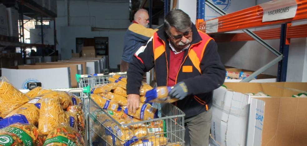 La continua llegada de alimentos retrasa el balance de la Gran Recogida