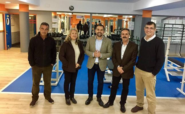 Un gimnasio nuevo en el Centro de Actividades Náuticas de Almería