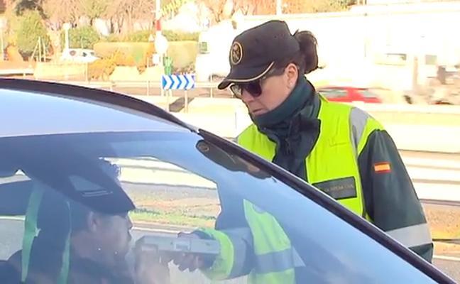 Más controles de tráfico en Granada tras las comidas de empresa