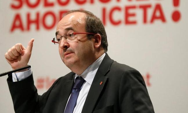 Iceta reitera que pedirá el indulto para los encarcelados del procés si es presidente de la Generalitat