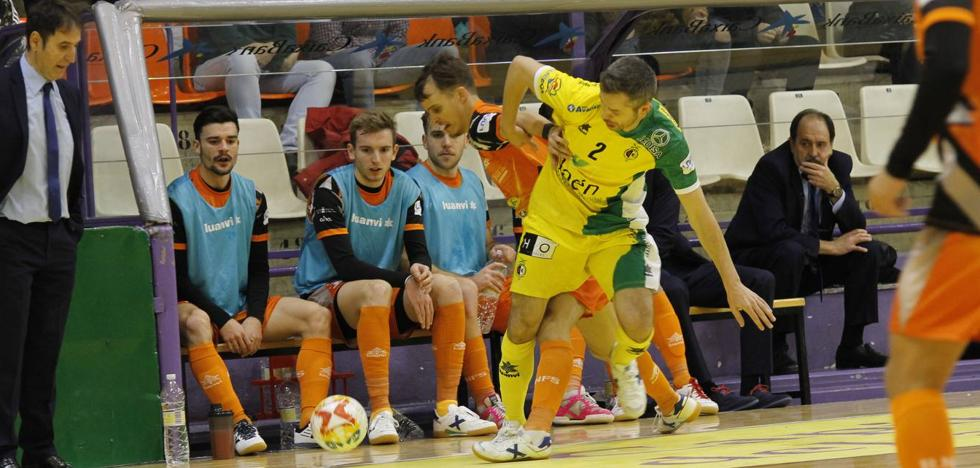Al Jaén FS le va la épica