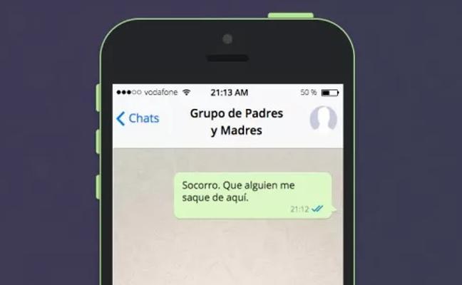 Esto pasa en los temidos grupos de Whatsapp de padres del colegio