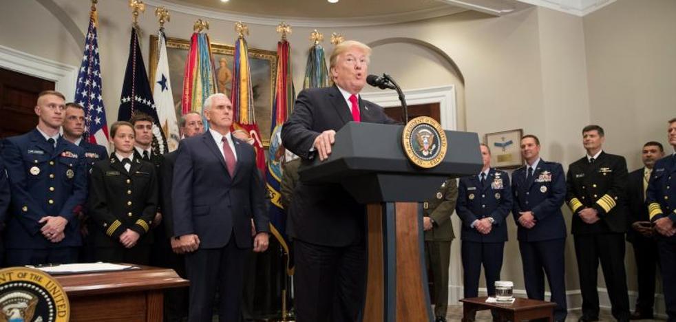 Trump eleva el gasto militar a los 700.000 millones de dólares