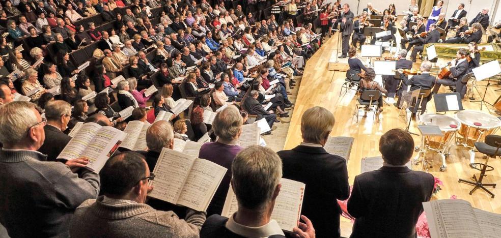 Un 'Mesías' acunado por 291 voces