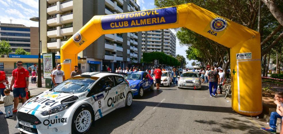 El Rally Costa de Almería, el único de Andalucía en la Copa de España