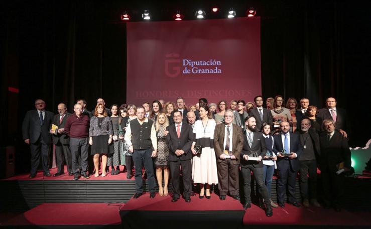 Diputación de Granada entrega sus Honores y Distinciones