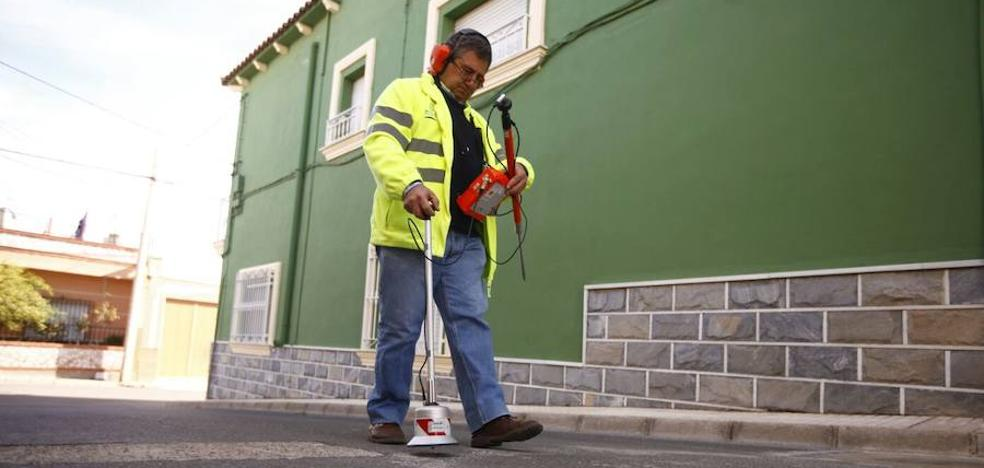 Diputación actúa en un centenar de fugas de las redes de agua