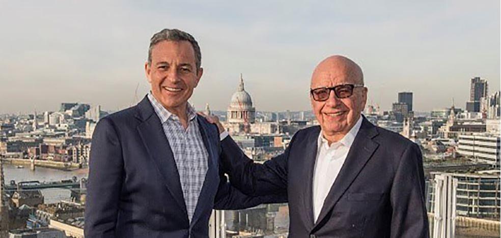 Disney se hace con todo el negocio de entretenimiento de la 21st Century Fox