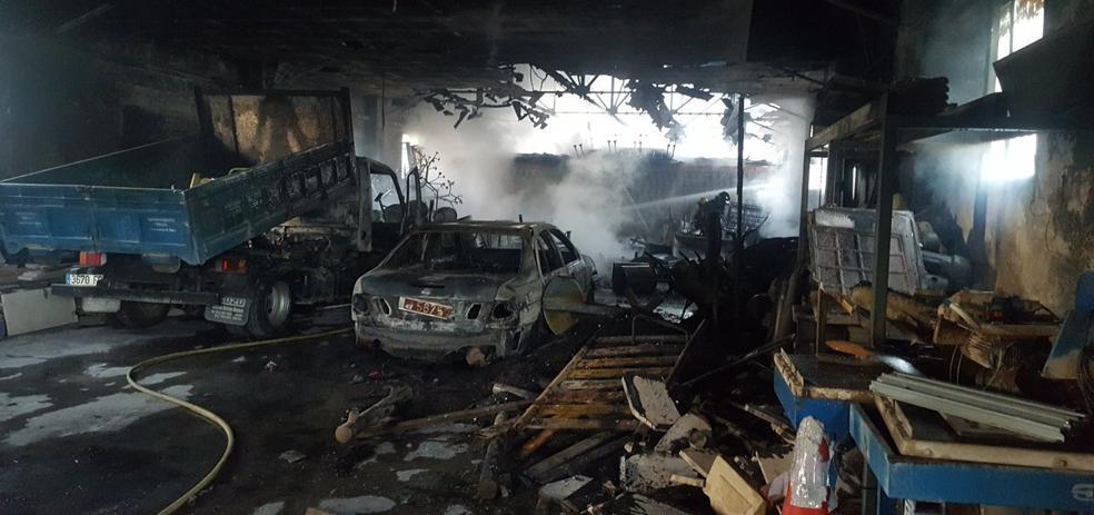 El incendio de la nave municipal en Jaén fue intencionado