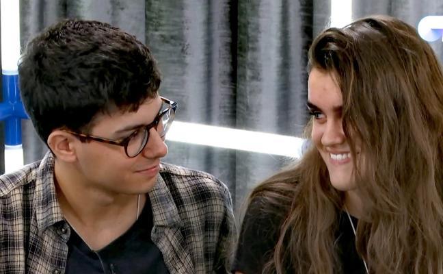 """Alfred y Amaia se besan """"por error"""" en la academia"""