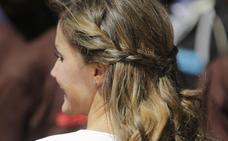 Los peinados de Letizia que puedes copiar en 5 minutos