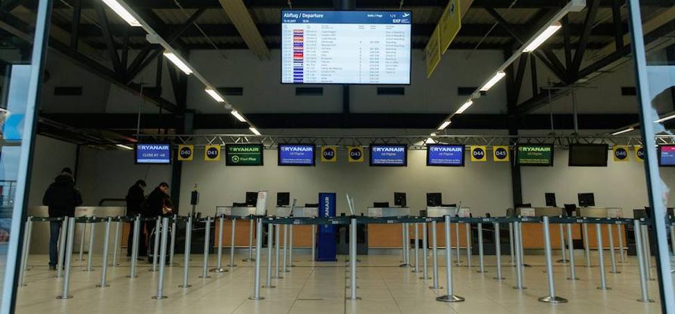 El personal de tierra de Ryanair en España convoca huelga el día 30