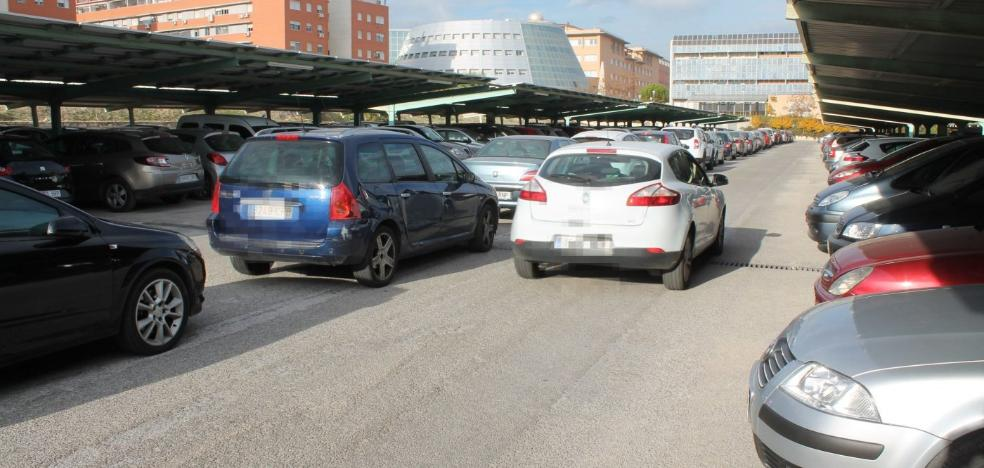 La UJA prevé un crecimiento «sostenible» de aparcamientos con 200 plazas más en cuatro años