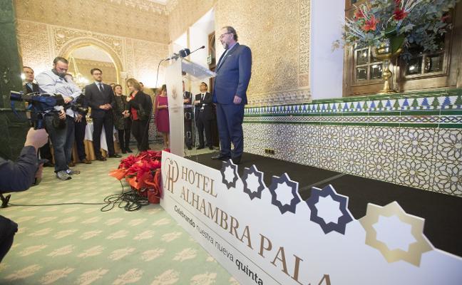 El hotel Alhambra Palace se viste de gala por su quinta estrella
