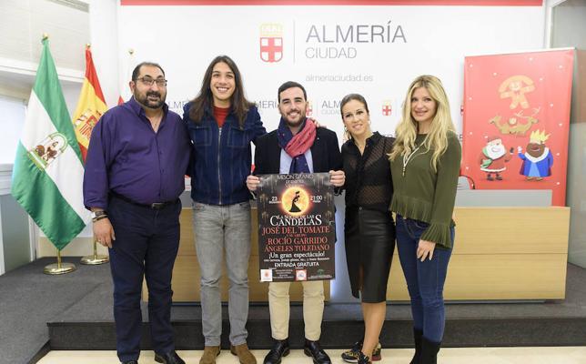 La Noche de las Candelas se celebrará en el Mesón Gitano de Almería