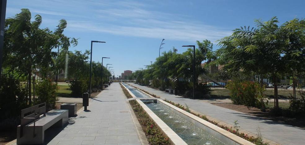 El PSOE denuncia la falta de vigilancia en horario diurno en el Parque de las Familias