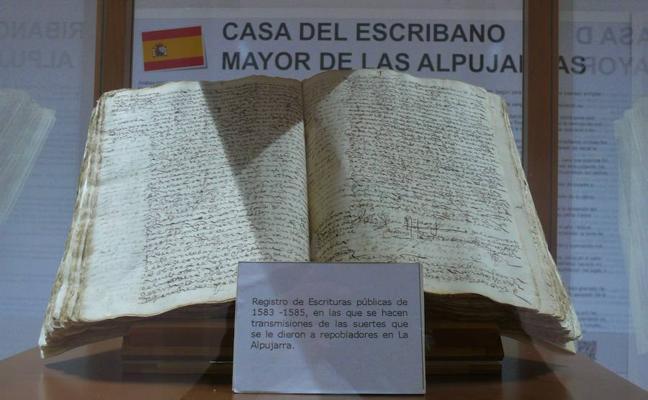 El Archivo Histórico Municipal de Ugíjar custodia el corpus documental más importante de la Alpujarra