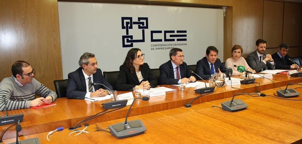 Los empresarios granadinos también defienden la importancia de la línea eléctrica para Andalucía oriental