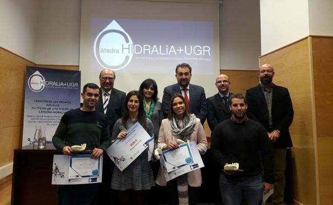 La Cátedra Hidralia+UGR premia un trabajo sobre la Presa de Rules