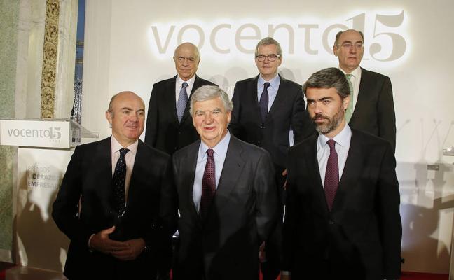 Vocento premia el liderazgo empresarial de BBVA, Iberdrola e Inditex