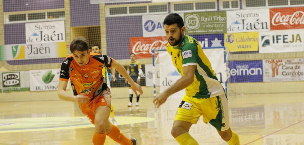 El Jaén FS juega frente al Palma Futsal en el último partido en casa